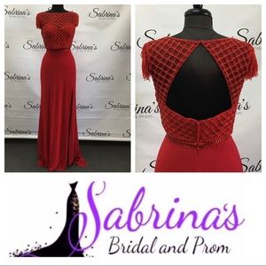 Sherri Hill - Style 51691 - Size 12 - Red